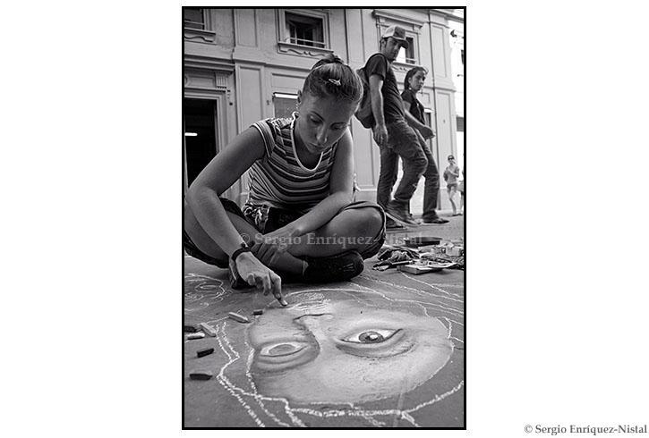 Street Painter Firenze Italia