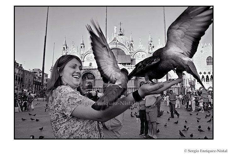 Street Photography Piazza di San Marco, Venezia, Italia