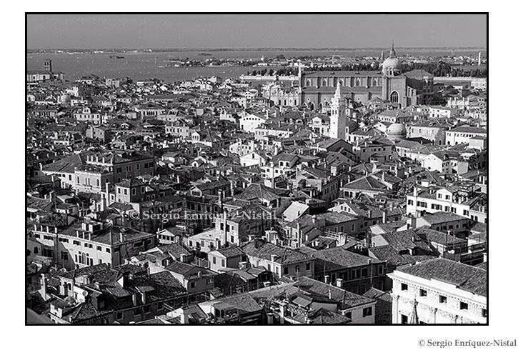 Venice from St Mark's Campanile, Piazza San Marco, Venezia, Italia