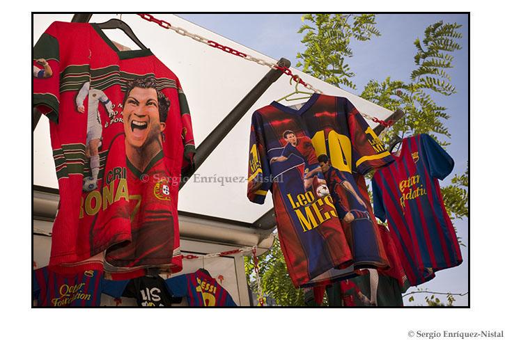 Cristiano Ronaldo & Lionel Messi. Lisbon, Portugal. Lisboa, Portugal