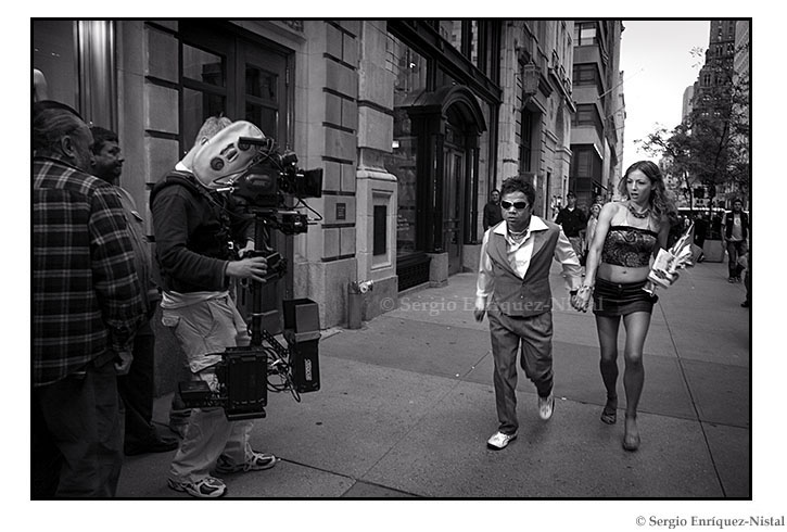 Filming in Manhattan Street Photography New York City