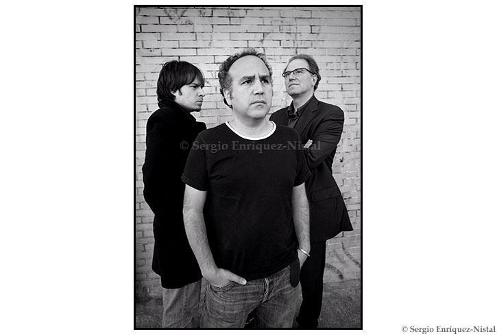 Rubén Pardiñas, Javier Corcuera y Oscar Vega