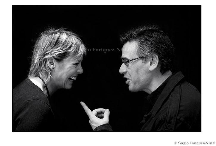 Tamzin Townsend y Jordi Galcerán