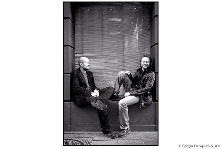 Tristán y David Ulloa