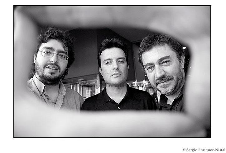 Víctor García León, Javier Rebollo y Antonio Chavarrías