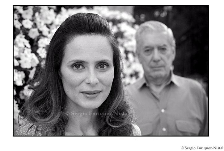 Aitana Sánchez-Gijón y Mario Vargas Llosa