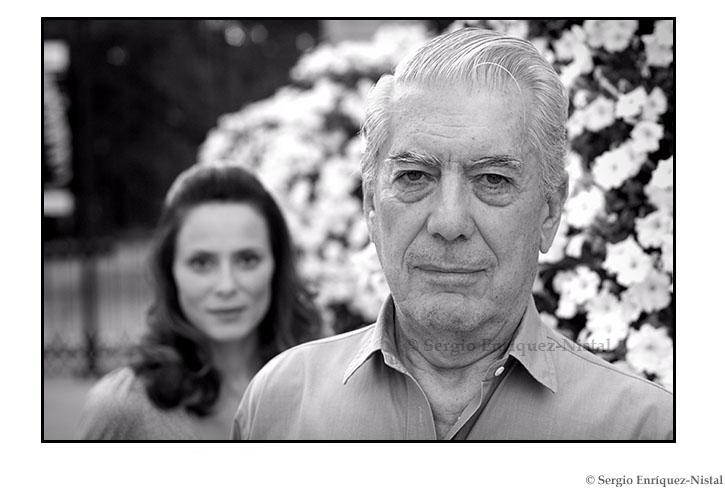 Mario Vargas Llosa y Aitana Sánchez-Gijón