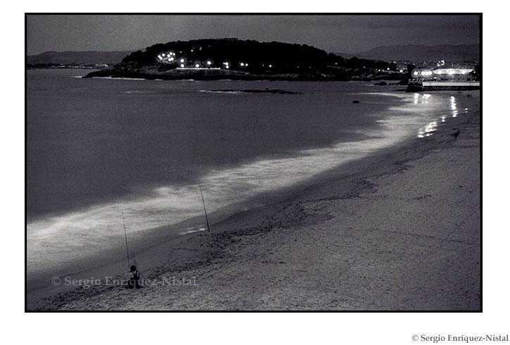 Fisherman Playa del Sardinero Santander