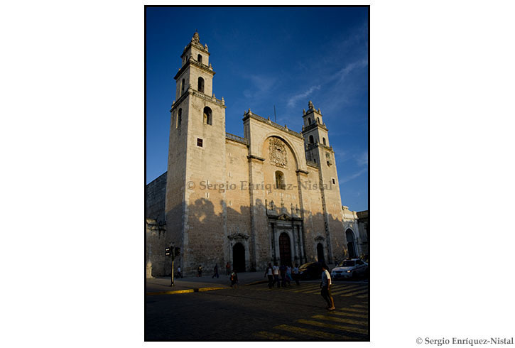 The Cathedral of San Ildelfonso, Mérida, State of Yucatán, México